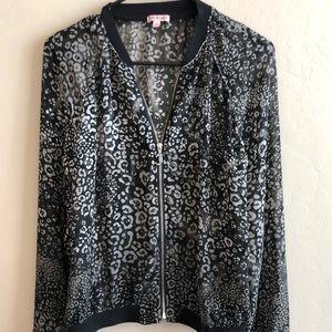 Women's Juicy Couture Chiffon Bomber Jacket